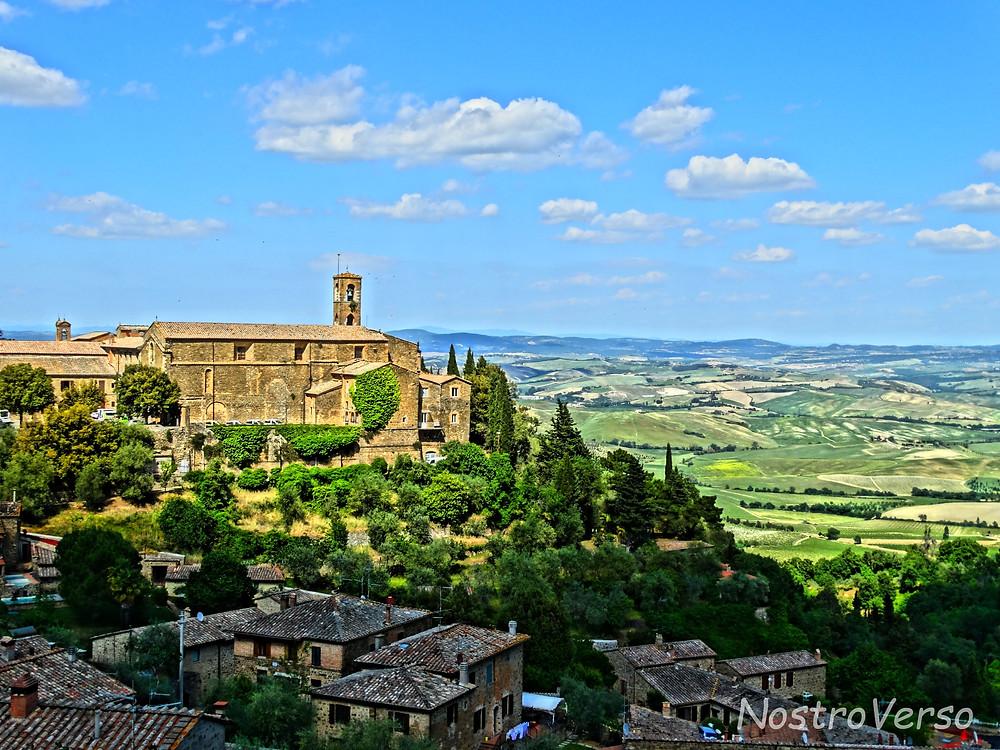 Montalcino - Toscana - Cidade medieval