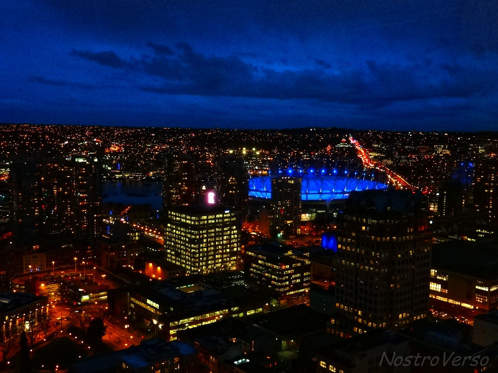 BC Place visto do Lookout - Vancouver
