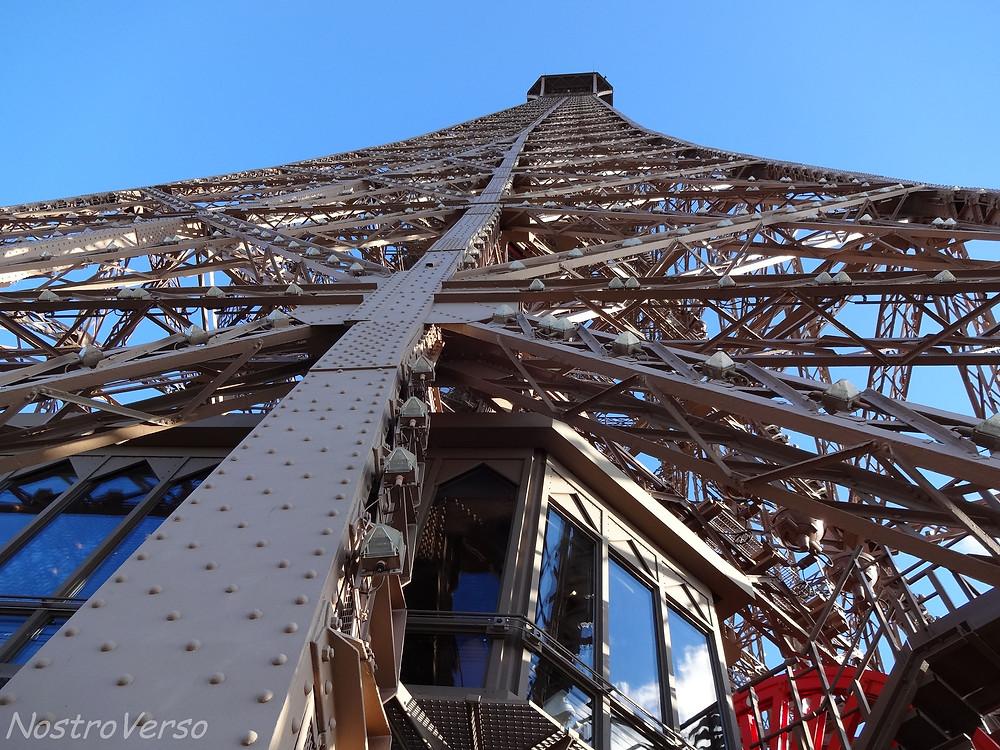 Detalhes da Torre Eiffel
