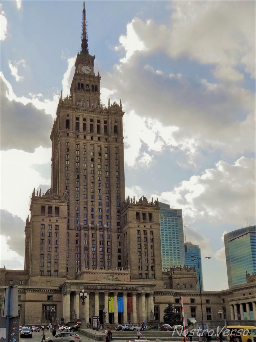 Palácio da Cultura e Ciência - Varsóvia