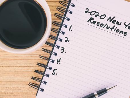 Les bonnes résolutions : comment les choisir et surtout les tenir EN 2020 ?