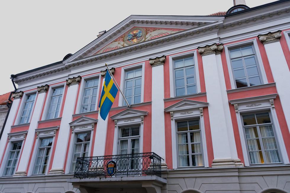 Svenska ambassaden / Tallin