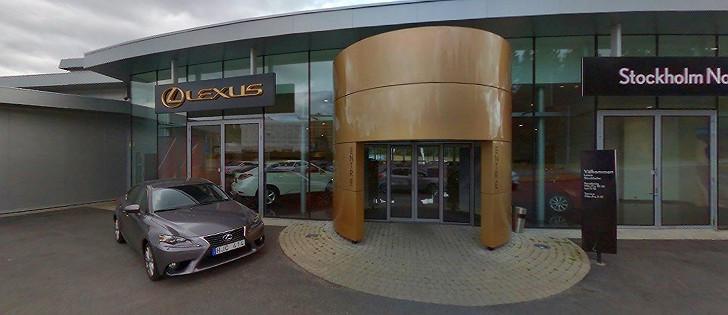 Lexus bilskadecenter