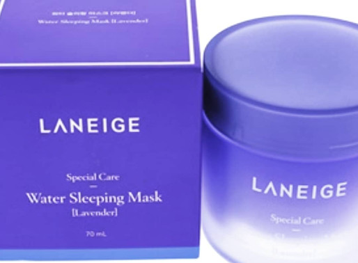 Limited Amounts! Laneige Lavender Sleeping Masks