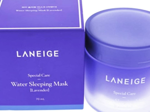 Limited Amounts! Laneige Lavender Sleeping Masks