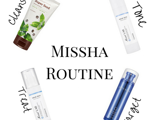 Create your own Missha routine!