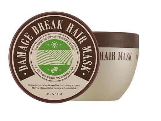 Review: Missha Damage Break Hair Mask with Jojoba Oil for treated hair