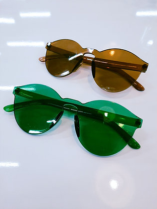Plastic Wide Sunglasses