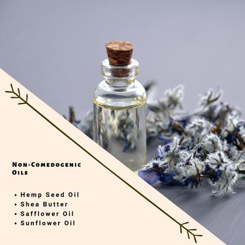 Non-comedogenic Oils for your skin