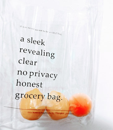 Reusable Plastic Tote Bag
