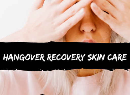 Hangover Recovery: Skincare Tips