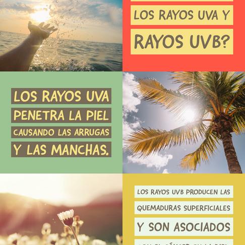 ¿Sabes diferenciar los rayos del sol? (Español)
