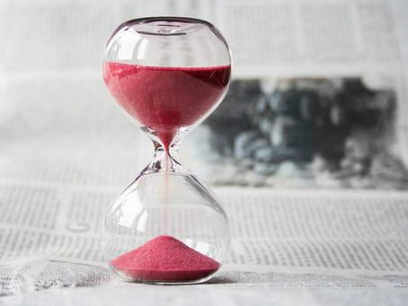 No tengo tiempo para tener prisa
