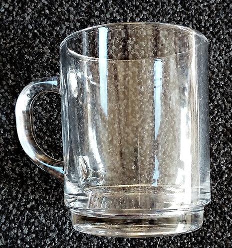 Tea Mug/ Glass Cup  - Teetasse/ Glastasse - Name - 200ml 250ml