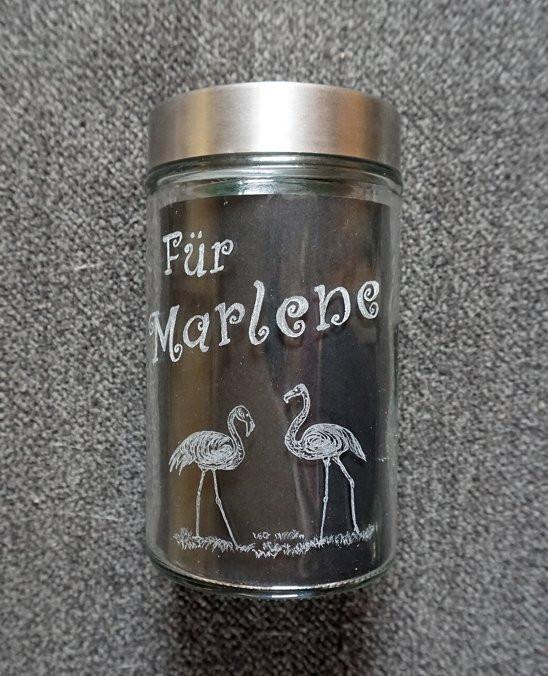 für Marlene mit Flamingos
