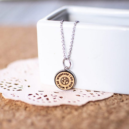 God Is With Me Necklace