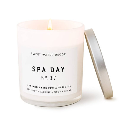 'Spa Day' Scented Candle
