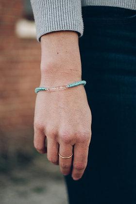 Abide in Him - Woven Bracelet