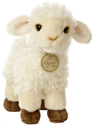 """Joshua"" Baby Lamb Stuffed Animal"