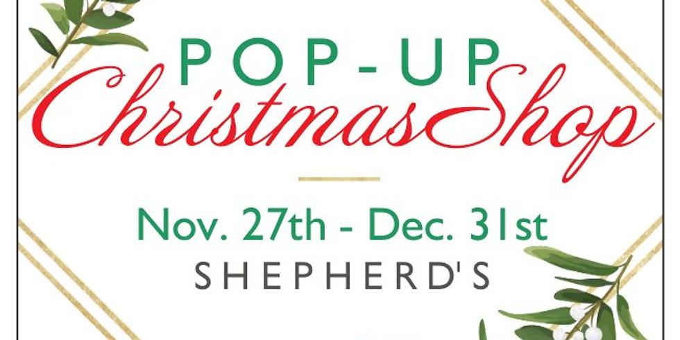 Pop-Up Christmas Shop
