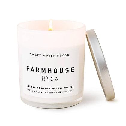 'Farmhouse' Scented Candle
