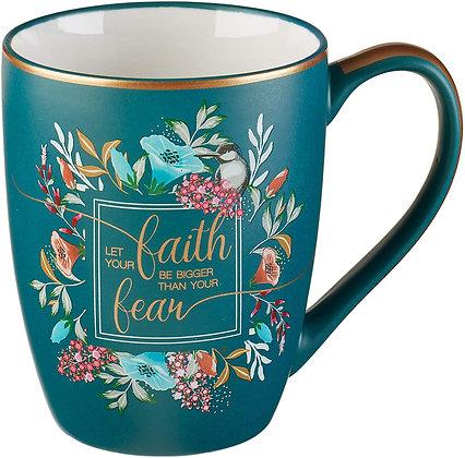 Faith > fear Mug