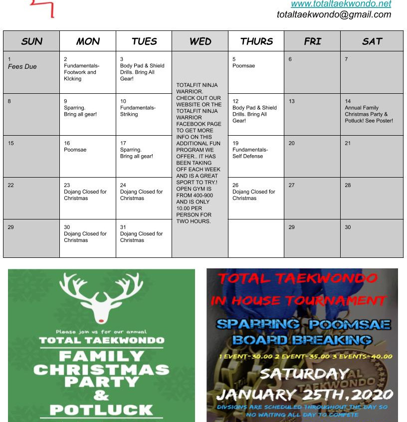 Newsletter Dec 1
