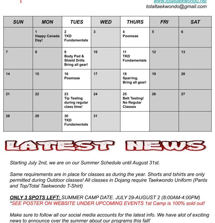 July Newsletter 1