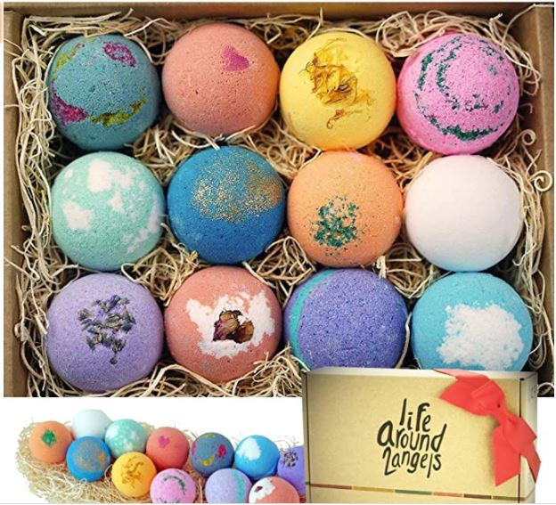 Bubble and Spa Bath Bombs