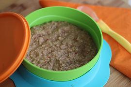 Bebekler için tavuk ciğeri ve pirinç püresi tarifi