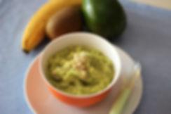 6 aylık bebekler için ek gıda avokadolu mama tarifi