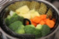 8 aylık bebekler için ek gıda kıymalı sebze püresi
