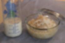 6 aylık bebekler için ek gıda elmalı sütlaç tarifi