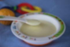 6 aylık bebekler için ek gıda yoğurt çorbası