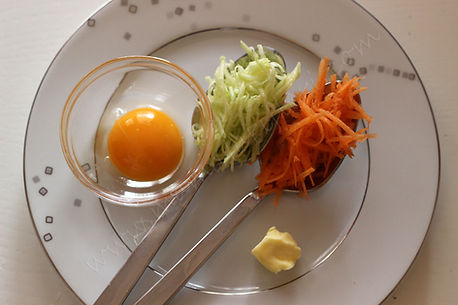 8 aylık bebekler için ek gıda bebek omleti
