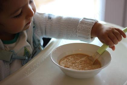 8 aylık bebekler için ek gıda ilk kahvaltım
