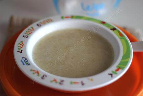 8 aylık bebekler için ek gıda bulgur püresi