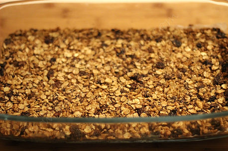çikolata parçacıklı granola tarifi