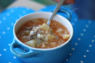 10 aylık bebekler için çorba tarifi
