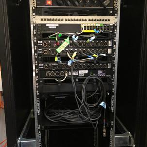 MA-Net und DMX-Racks