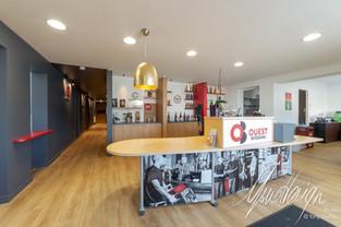 Usuel Design - OuestBoissons - Rénovation Agencement Shoorwoom Commerce