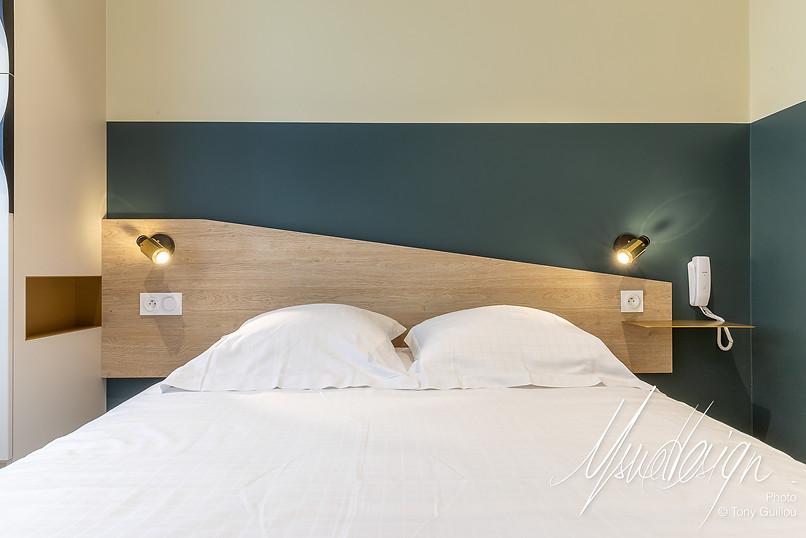 Usuel Design - Le Crouesty - Rénovation Chambres d'Hotel