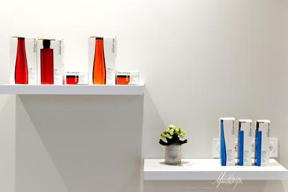 Usuel Design - Salon de coiffure Laurence G. - Rénovation Agencement Commerce