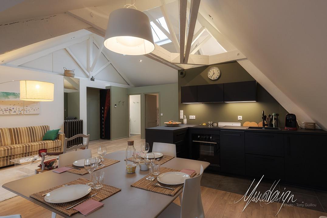 Usuel Design - Interieurs privés - Rénovation Agencement