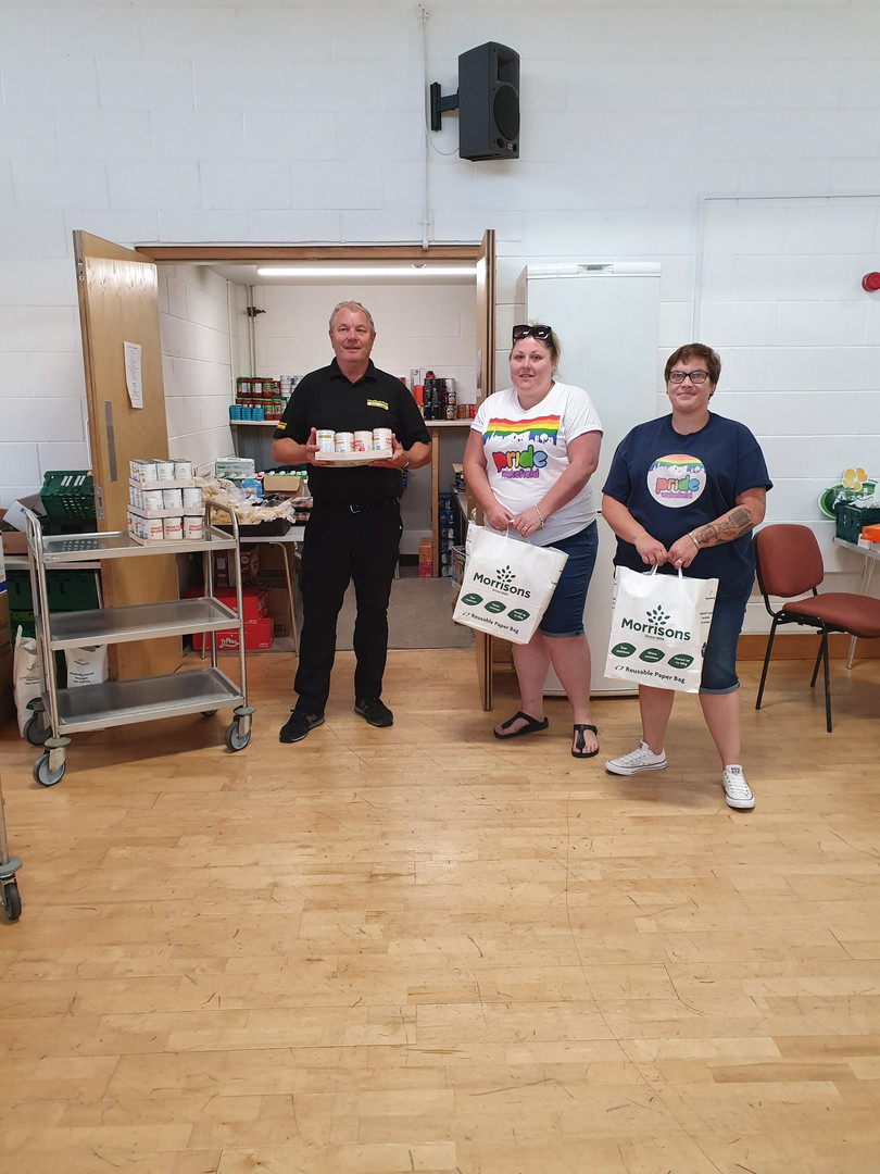 Food donation to the food bank