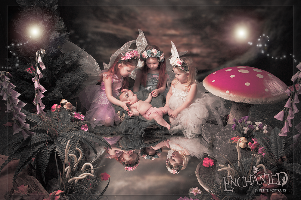 Enchanted Fairy photoshoot by Petite Portraits Photography, Sheffield