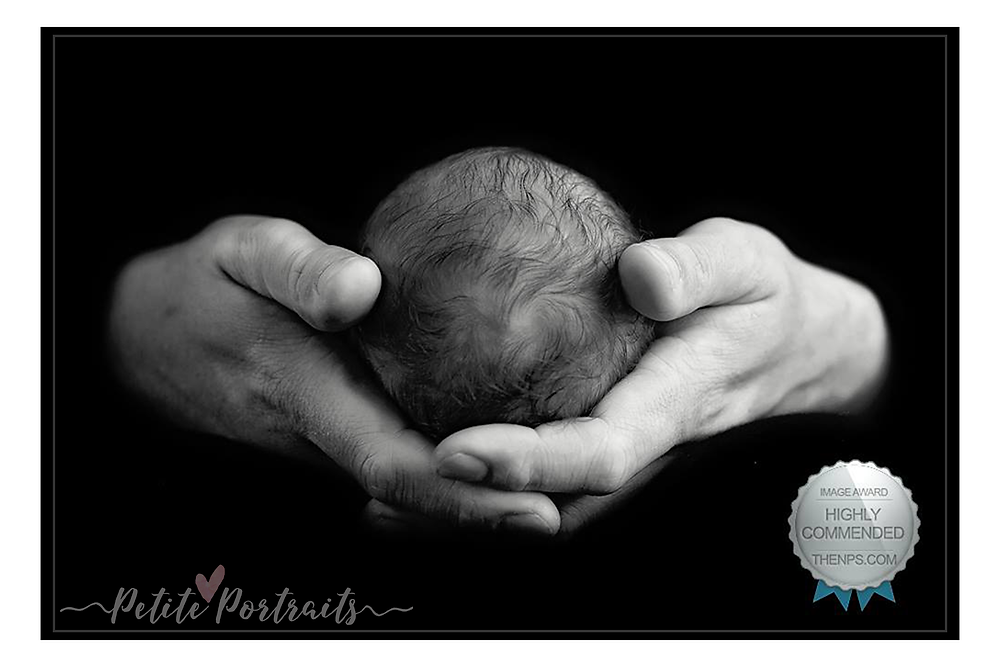 Petite Portraits Award Winning Newborn Image 2016 1