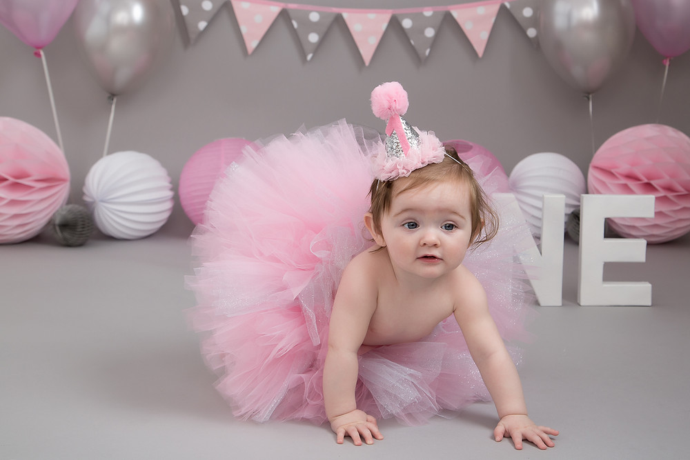 Ready to smash and splash at her Petite Portraits Photography Photoshoot Sheffield