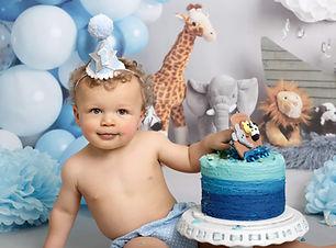 Cake Smash photoshoot Doncaster