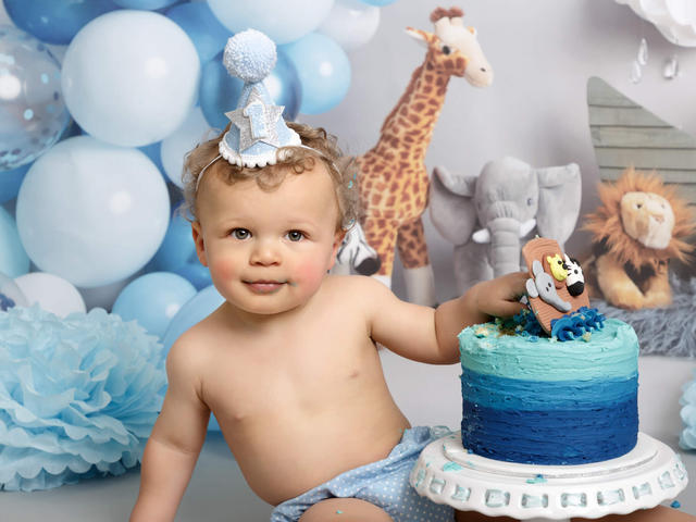 cake smash baby photos mansfield doncaster